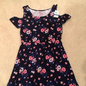 Epic Threads Navy Flower dress size XL